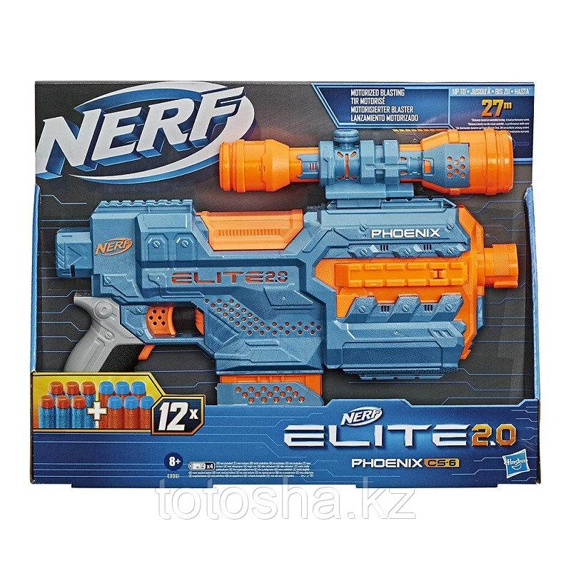 Бластер Nerf Elite 2,0 Phoenix CS-6 Нёрф Феникс ЦС-6 , E9961