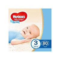 Подгузники Huggies Ultra Comfort 3 для мальчиков 5-9 кг 80 штук