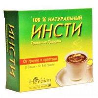 Инсти чай со вкусом лимона 5,6 г пакет-саше №5