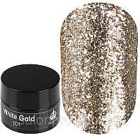 Дизайн Platinum Gold для ногтей