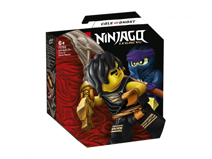 71733 Lego Ninjago Легендарные битвы: Коул против Призрачного воина, Лего Ниндзяго