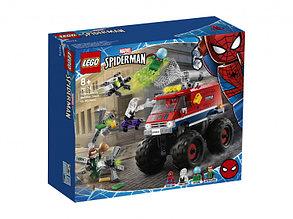 76174 Lego Super Heroes Монстр-трак Человека-Паука против Мистерио, Лего Супергерои Marvel