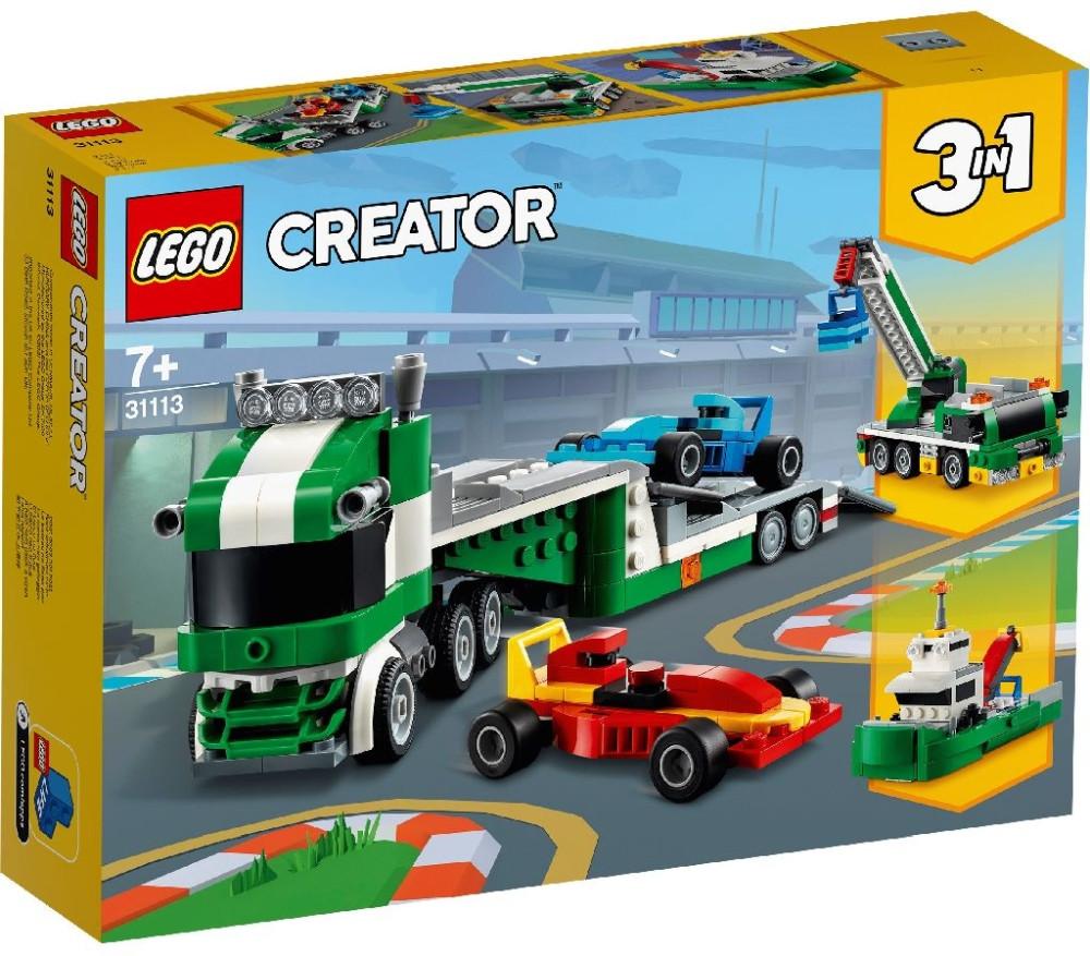 31113 Lego Creator Транспортировщик гоночных автомобилей, Лего Креатор