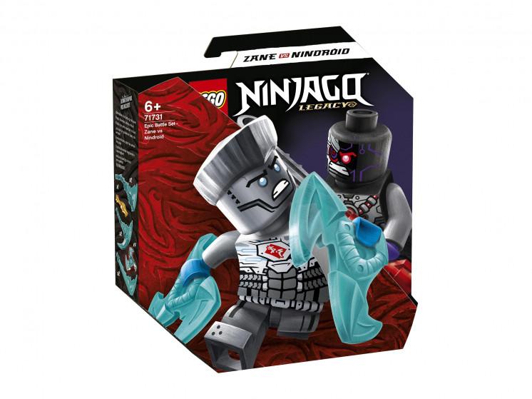 71731 Lego Ninjago Легендарные битвы: Зейн против Ниндроида, Лего Ниндзяго