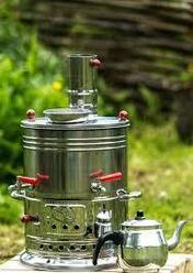 Турецкий самовар на дровах 3,5 литра
