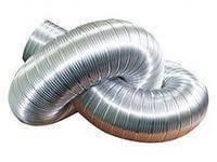 100 ВПА Воздуховод гибкий алюминиевый гофрированный, L до 1,5м