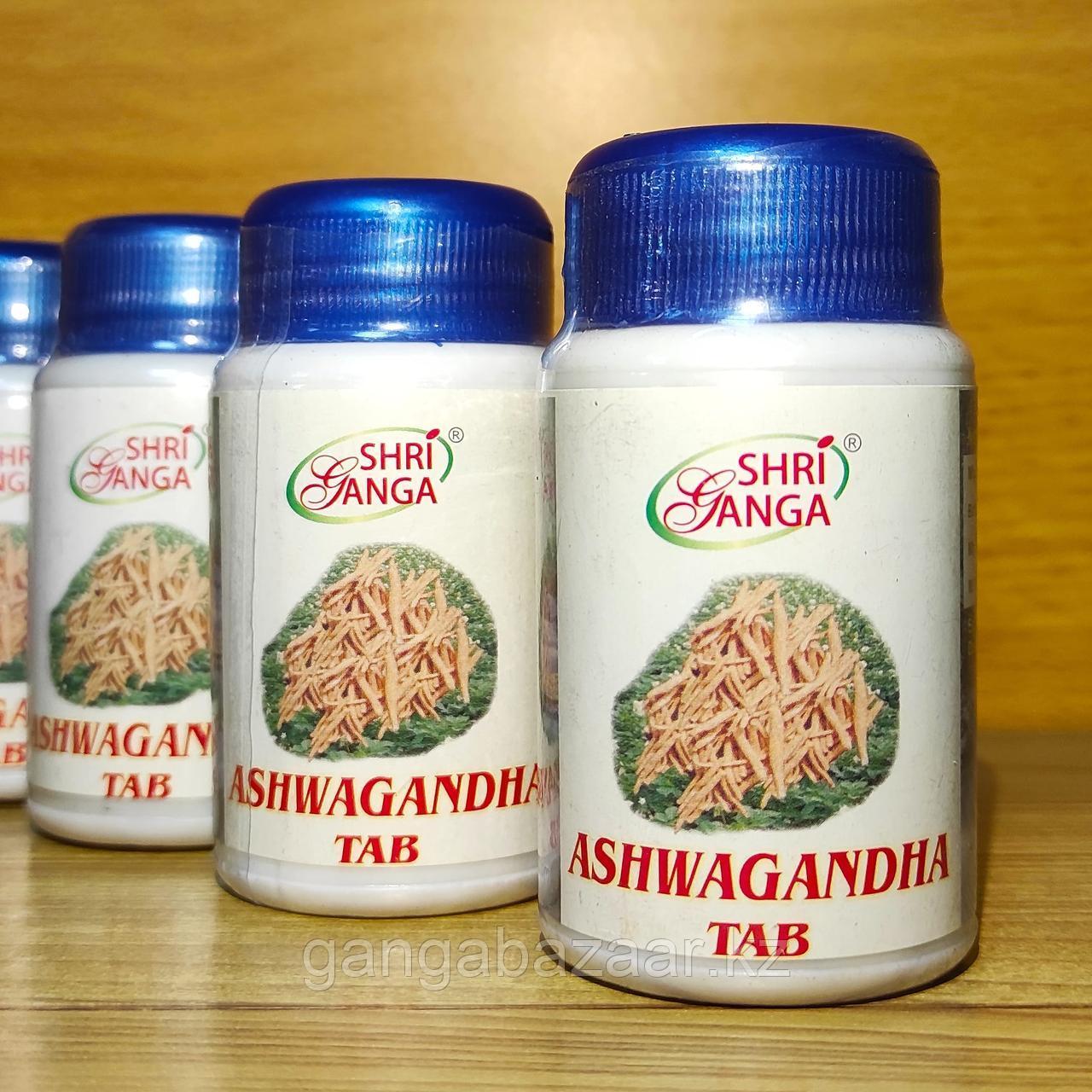 Ашваганда или Ашвагандха Шри Ганга для физической и умственной силы, 60 таб