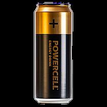 Энергетический напиток Powercell Original (Пауэрселл Ориджинал) батарейка безалкогольный 450ml (12шт упак)