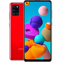 Смартфон Samsung Galaxy A21s 3/32GB Red (SM-A217FZRNSKZ)