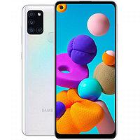 Смартфон Samsung Galaxy A21s 3/32GB White (SM-A217FZWNSKZ)