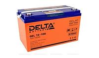 Аккумуляторная батарея Delta GEL 12-100 (12V / 100Ah)