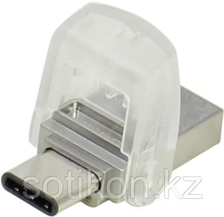 USB Флеш 32GB 3.0 Kingston OTG DTDUO3C/32GB металл, фото 2