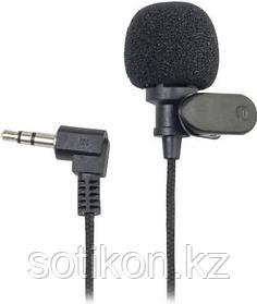 Микрофон петличный Ritmix RCM-101 черный