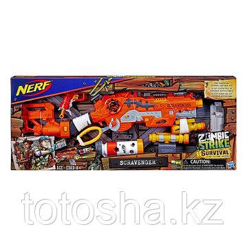 Бластер Nerf Zombie Strike Survival Зомби страйк Выживший , E1754