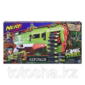 Бластер Nerf Zombie Strike Ripchain Зомби страйк Цепевик , E2146