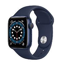 Смарт-часы Apple Watch Series 6 GPS 40mm Blue Aluminium Case with Deep Navy Sport Band - Regular, Model A2291