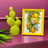 Декоративный кактус, керамика