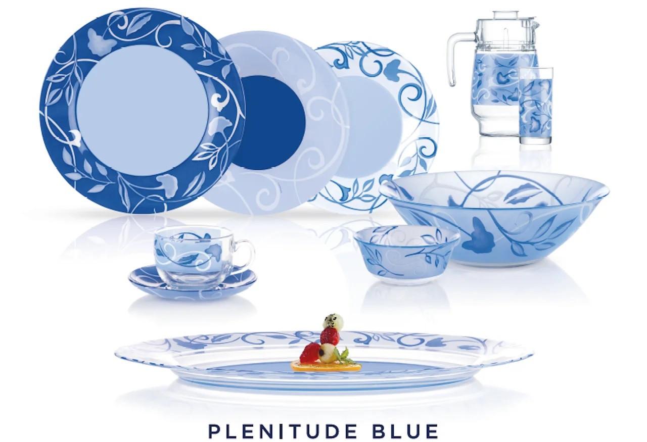 Столовый сервиз Luminarc Plenitude blue 46 предметов на 6 персон