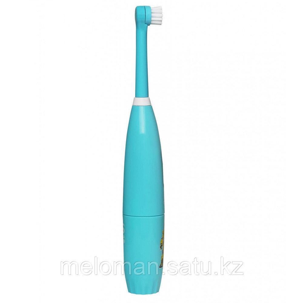 CS Medica: Электрическая звуковая зубная щетка CS-463-B Kids. 5-12 лет, бирюзовый - фото 4