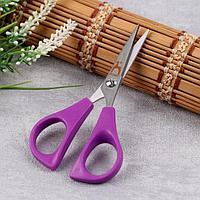 Ножницы для вышивания, 11,5 см, цвет сиреневый