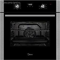 Духовой шкаф Midea MO 68145 X, электрический, 70 л, класс А, черный