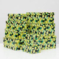 Набор коробок 10 в 1 'Васаби', 30,5 х 20 х 13 - 12 х 6,5 х 4 см