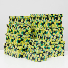 Набор коробок 10 в 1 'Васаби', 30,5 х 20 х 13 - 12 х 6,5 х 4 см - фото 1