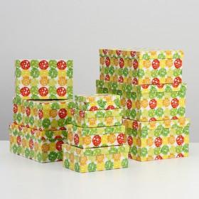 Набор коробок 10 в 1 'Шары-бабочки', 30,5 х 20 х 13 - 12 х 6,5 х 4 см - фото 2