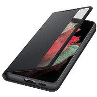 Samsung Galaxy S21 Ultra Smart Clear View Cover аксессуары для смартфона (EF-ZG998CBEGRU)