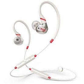 Спортивная Bluetooth наушники TCL, малиново-белые