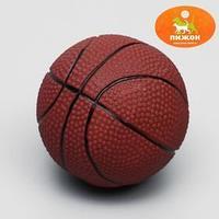 Игрушка пищащая 'Мяч Баскетбол' диаметр 7,5 см