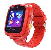 Смарт часы Elari KIDPHONE 4G красный
