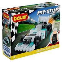 Конструктор 'Гоночная машина. Pit Stop', цвет черный, серый, бирюзовый