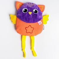 Развивающая игрушка - грелка с вишнёвыми косточками 'Совушка'