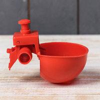 Поилка чашечная для домашней птицы, под трубку 13,5 мм, Greengo (комплект из 10 шт.)