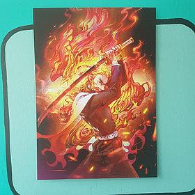 Постер Ренгоку -  Клинок рассекающий демонов
