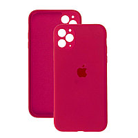 Силиконовый чехол для Apple iPhone 11 Pro Max,Малиновый,Silicone Case
