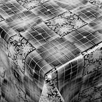 Скатерть без основы многоразовая 110х132 см 'Ажурная ' цвет МИКС