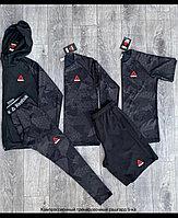Рашгарды ( компрессионное белье ) Reebok 5в1 черный комбинированный