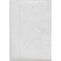 Обои HomeColor 413-01 вспененный винил на флизелине 1,06 х 25 м, белый (комплект из 5 шт.)