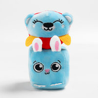 Набор развивающих игрушек, 2 предмета кубик 'Зайчик', мячик 'Мишка'