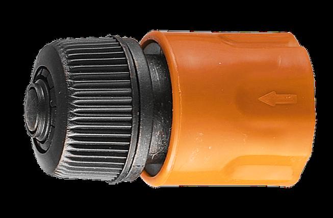 Соединитель аквастоп быстросъемный для шланга 1/2 Вихрь, фото 2