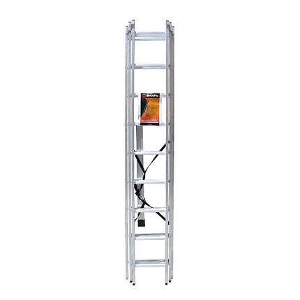 Лестница алюминиевая Лайт ВИХРЬ ЛА 3х9, фото 2