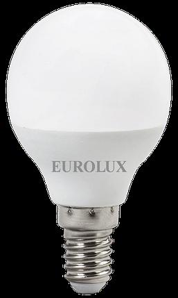 Лампа светодиодная EUROLUX LL-E-G45-7W-230-4K-E14, фото 2