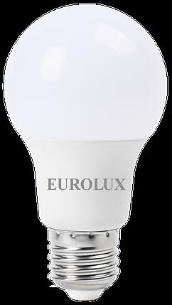 Лампа светодиодная EUROLUX LL-E-A60-9W-230-2,7K-E27, фото 2