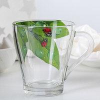 Кружка для чая 'Живая природа. Зелёный лист', 250 мл (комплект из 20 шт.)