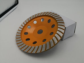 Чашка алмазная зачистная, 125 мм, Турбо Вихрь, фото 2