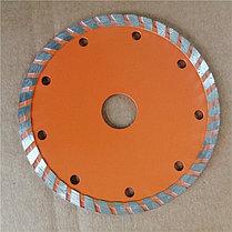 Диск алмазный отрезной Турбо СТАНДАРТ, 125 х 22,2 мм, сухая резка Вихрь, фото 2
