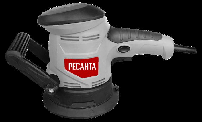 Эксцентриковая шлифовальная машина ЭШМ-125Э Ресанта, фото 2