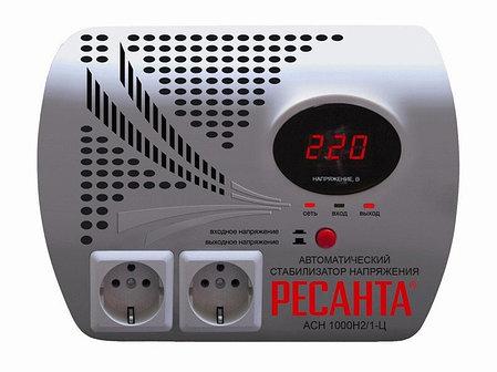 Стабилизатор напряжения серии LUX РЕСАНТА АСН-1000Н2/1-Ц, фото 2
